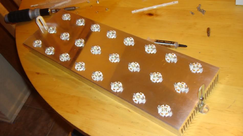 Светодиодный светильники для аквариума своими руками